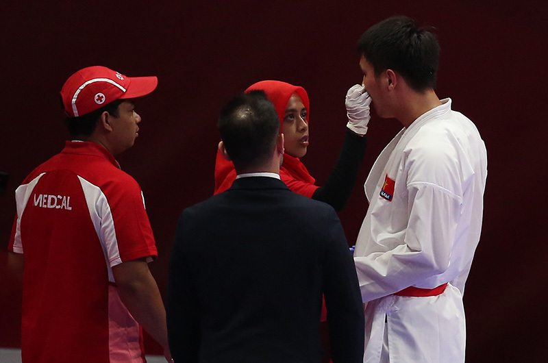Nguyễn Minh Phụng,karate,Aisad 208