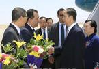 Chủ tịch nước bắt đầu thăm cấp Nhà nước đến CH Arab Ai Cập