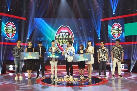 Trấn Thành,Trang Pháp,Trường Giang,Giọng ải giọng ai,gameshow