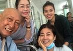 Nghệ sĩ Lê Bình, Mai Phương cười tươi bên nhau vượt qua bệnh tật