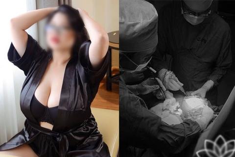 Cận cảnh quá trình thu nhỏ ngực 1,1m trong 5 tiếng của hot girl Hải Dương
