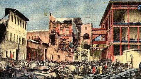 Cuộc chiến tranh ngắn ngủi nhất lịch sử thế giới Anh - Zanzibar 1896