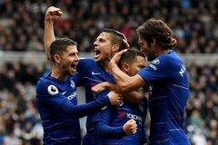 """Xuyên thủng """"xe buýt"""", Chelsea của Sarri sánh ngang Mourinho"""
