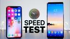 Galaxy Note 9 hay iPhone X thua trong bài kiểm tra hiệu năng?