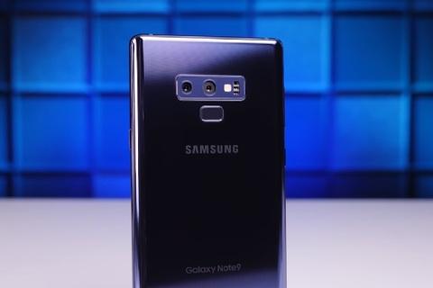 Galaxy Note 9 và iPhone X