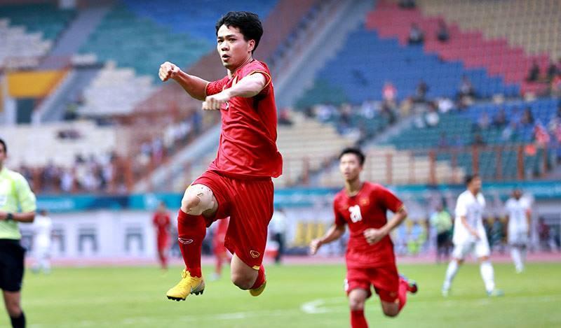 ASIAD 2018,U23 Việt Nam,Park Hang Seo,BLV Quang Huy,Công Phượng