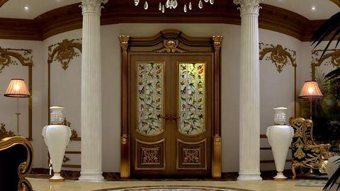 Chọn màu cho cửa ra vào nhà đẹp