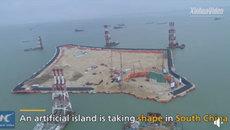 Cận cảnh quá trình xây đảo thần tốc của Trung Quốc