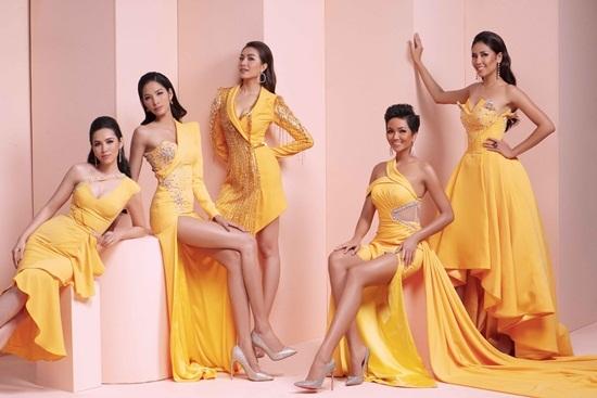 Hoa hậu Hoàn Vũ,H'hen Niê,Hoàng Thùy,Làng sao