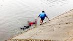 Bắc Ninh: Con trai chết lặng khi thấy thi thể cha dưới hồ