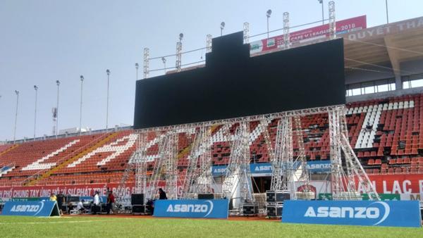 Asanzo tài trợ màn hình 'khủng' cổ vũ  Olympic Việt Nam