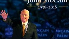 Chủ tịch QH, Thủ tướng gửi điện chia buồn tới gia đình TNS McCain