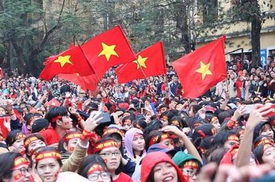 Tiếp lửa U23 Việt Nam, nhiều trường đại học tổ chức cho sinh viên xem trận tứ kết ASIAD