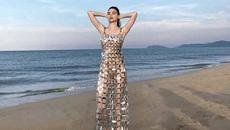 Xôn xao Hồ Ngọc Hà mặc váy cũng như không