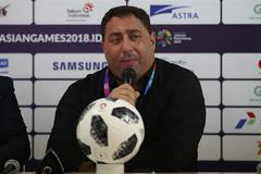 """HLV Syria: """"Chúng tôi đã đánh giá thấp U23 Việt Nam"""""""