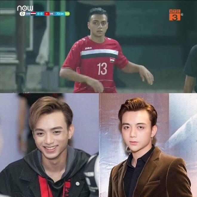 Cầu thủ U23 Syria giống Soobin Hoàng Sơn