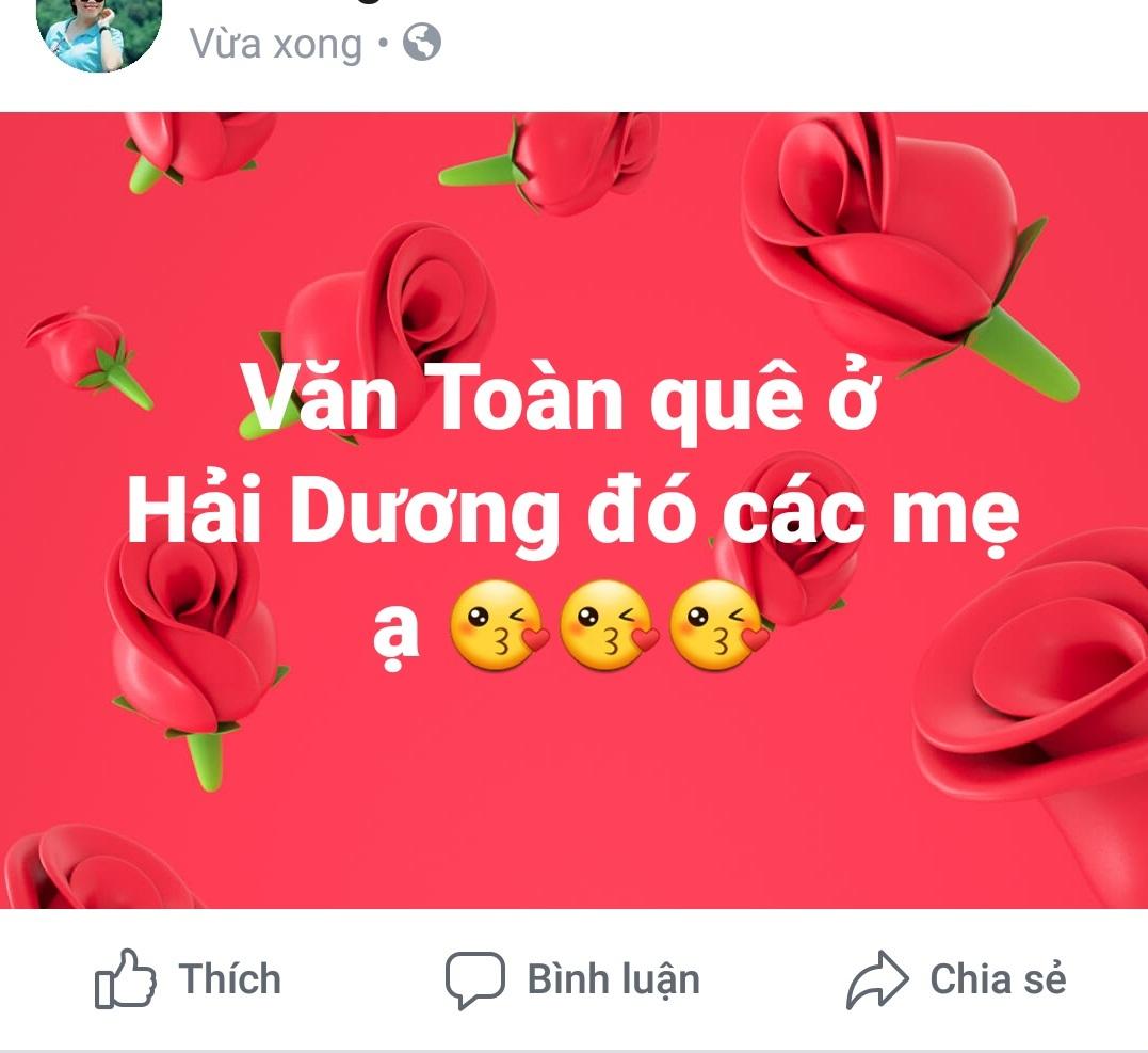 Chàng trai Văn Toàn được gọi tên