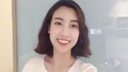 Hoa hậu Đỗ Mỹ Linh chia sẻ về U23