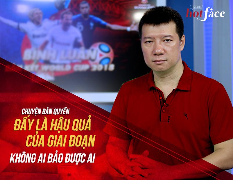 BLV Quang Huy,bản quyền truyền hình Asiad