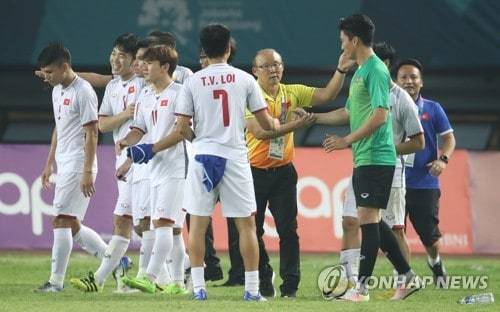U23 Việt Nam,HLV Park Hang Seo,bán kết Asiad 2018,Báo Hàn Quốc,Văn Toàn,U23 Hàn Quốc