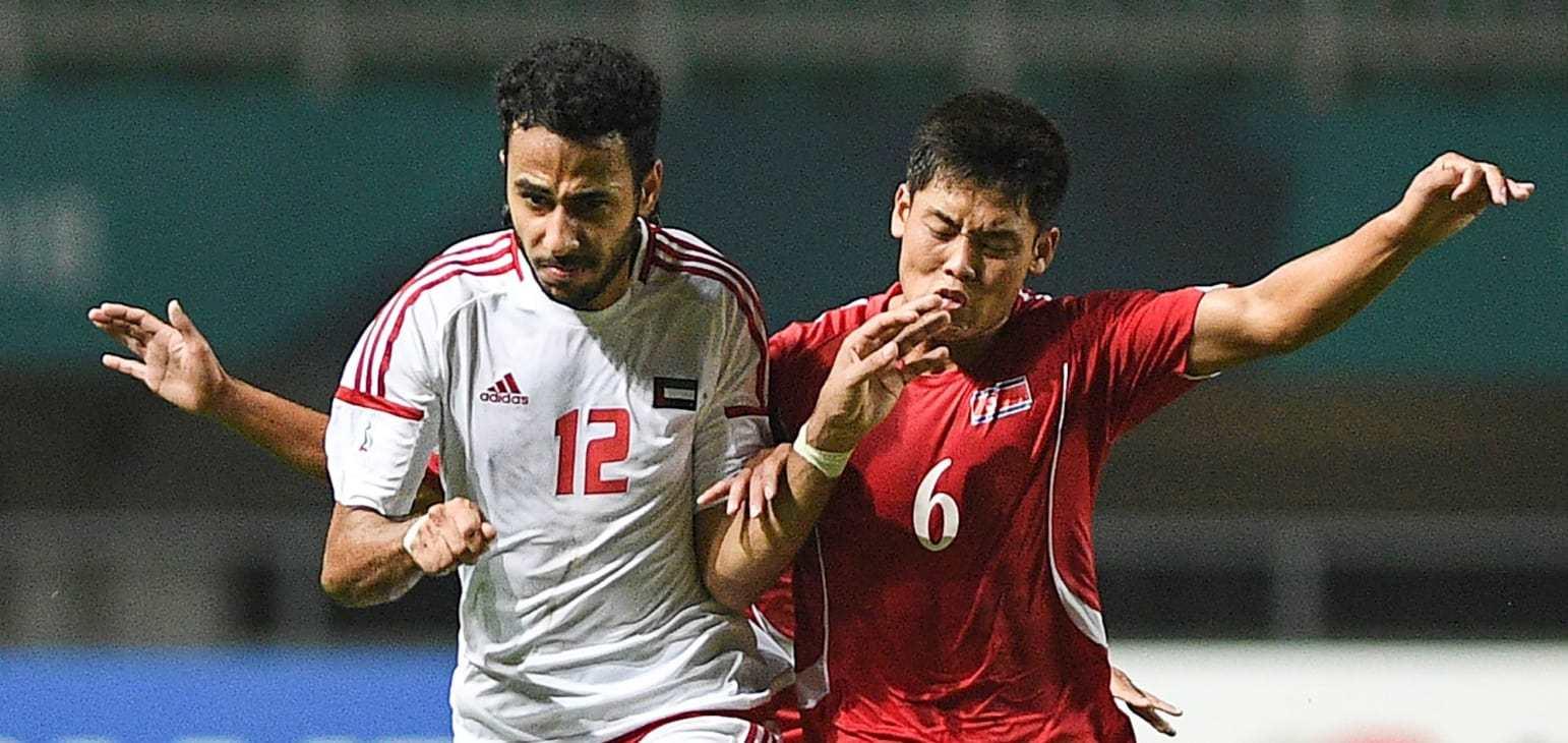 U23 UAE vs U23 Triều Tiên,tứ kết Asiad 2018,trực tiếp bóng đá,U23 Triều Tiên,U23 UAE