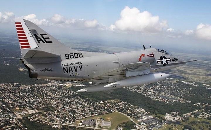 Mẫu cường kích Mỹ từng bị Việt Nam bắn hạ