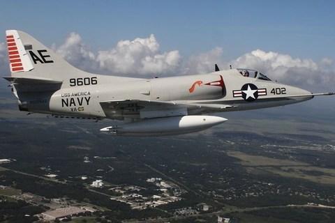Máy bay cường kích Mỹ A-4 Skyhawk từng bị Việt Nam bắn hạ