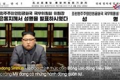 Triều Tiên tố Mỹ 'hai mặt', âm mưu kích động chiến tranh
