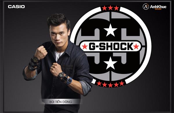 Mua đồng hồ Casio, nhận vé đại nhạc hội G-Shock