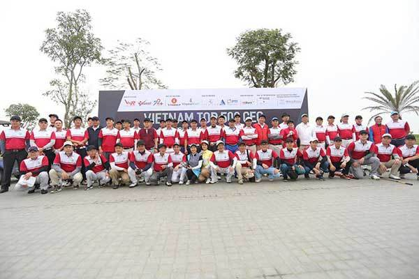 VCG500: Giải Golf của lãnh đạo doanh nghiệp hàng đầu Việt Nam