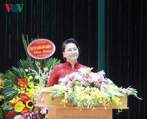 Chủ tịch Quốc hội,Nguyễn Thị Kim Ngân,Cảnh sát biển