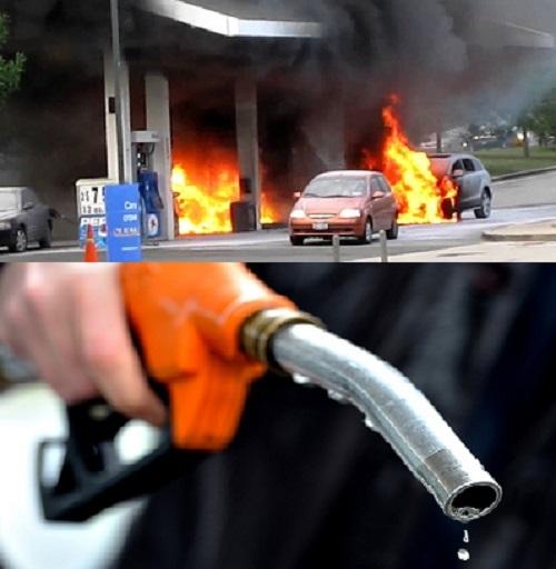 Đổ xăng ô tô tưởng đơn giản nhưng khá nguy hiểm nếu mắc sai lầm