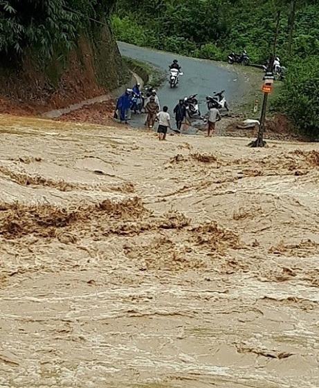 lũ quét,mưa lớn,Điện Biên,Sơn La,sạt lở