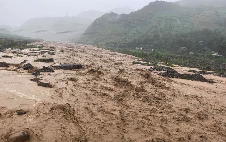Lũ quét kinh hoàng ở Điện Biên, Sơn La