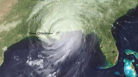 siêu bão Katrina 2005