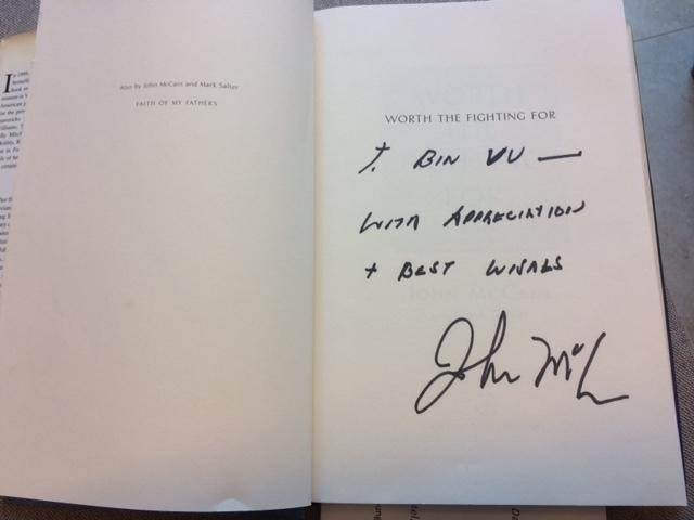 Những kỷ niệm với TNS John McCain