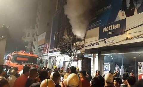 Cháy nhà tại Thanh Hóa