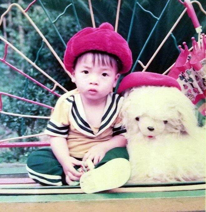 Bức ảnh Tiến Dũng chụp từ lúc 2 tuổi