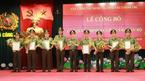 Công bố các quyết định nhân sự trong lực lượng công an