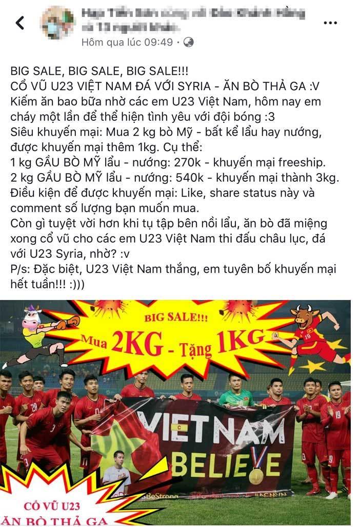 U23 Việt Nam,Asiad 2018,cổ vũ bóng đá