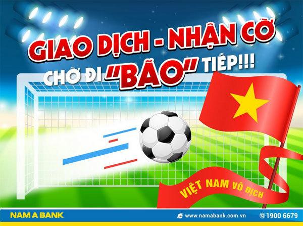 Nam A Bank ưu đãi 'tiếp lửa' Olympic Việt Nam