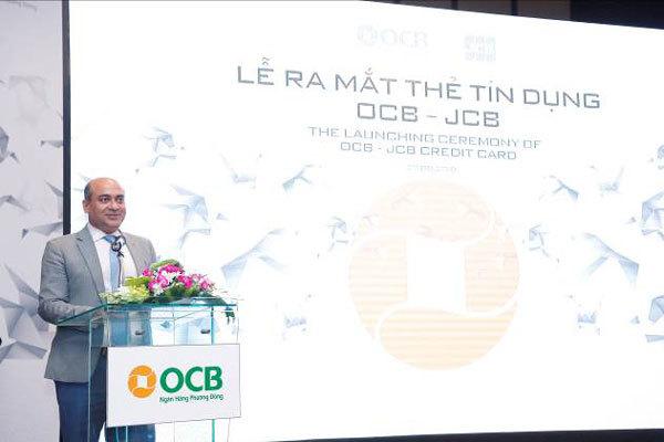Ra mắt thẻ tín dụng quốc tế OCB - JCB