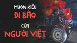 'Cười tụt hàm' với muôn kiểu đi bão của người Việt
