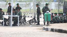 Quân đội Indonesia bảo vệ nhiều vòng trận U23 Việt Nam - U23 Hàn Quốc