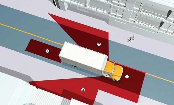 """6 kỹ năng lái xe an toàn khi """"chạm trán"""" xe container"""