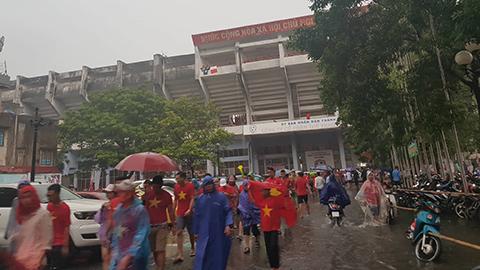 cổ vũ U23 Việt Nam tại Hải Phòng