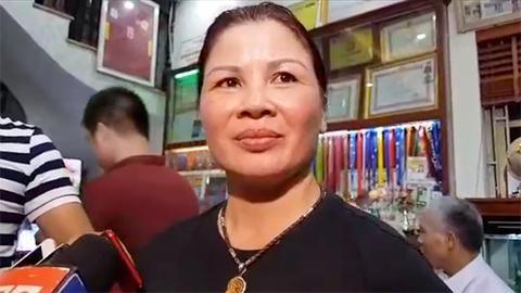 mẹ Quang Hải