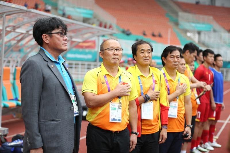 U23 Việt Nam,HLV Park Hang Seo,U23 Hàn Quốc