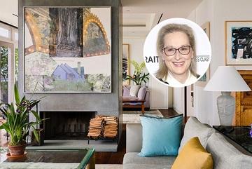 Căn hộ 500 tỷ đẹp như mơ của diễn viên Meryl Streep
