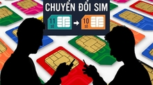 Lịch chuyển đổi SIM 11 thành 10 số của Viettel, MobiFone, VinaPhone